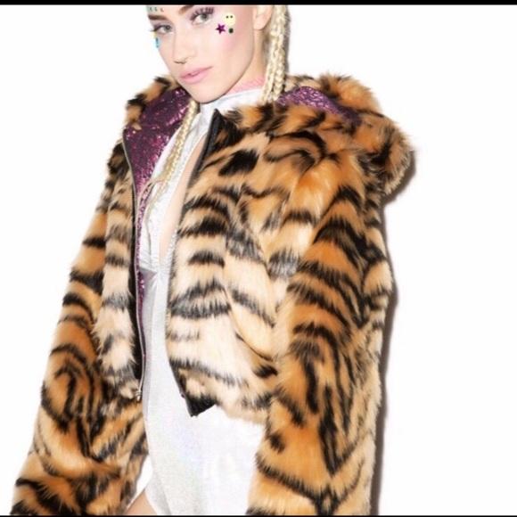 Dolls Kill Jackets & Blazers - Dolls Kill J Valentine Bengal Jacket
